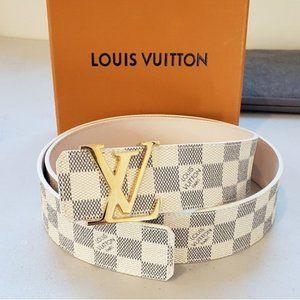 Louis Vuitton Monogram Initiales Belt unisex